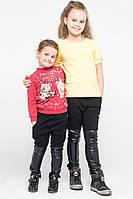 Штаны ботфорты для девочек черные, фото 1