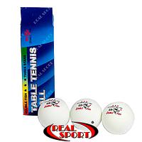 Теннисные мячи Double Fish 3* ITTF