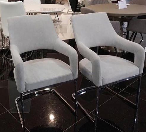 Кресло Берналь светло-серая ткань от Prestol