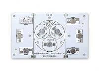 Алюминиевая плата U 9W 110*65*0.8 TYPE-1 RGB Epistar