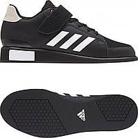 Обувь для тяжелой атлетики Штангетки Adidas Power Perfect 3 черные