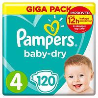 Подгузники Pampers Active Baby Maxi 4 (7-14 кг) Mega Pack 120 шт.