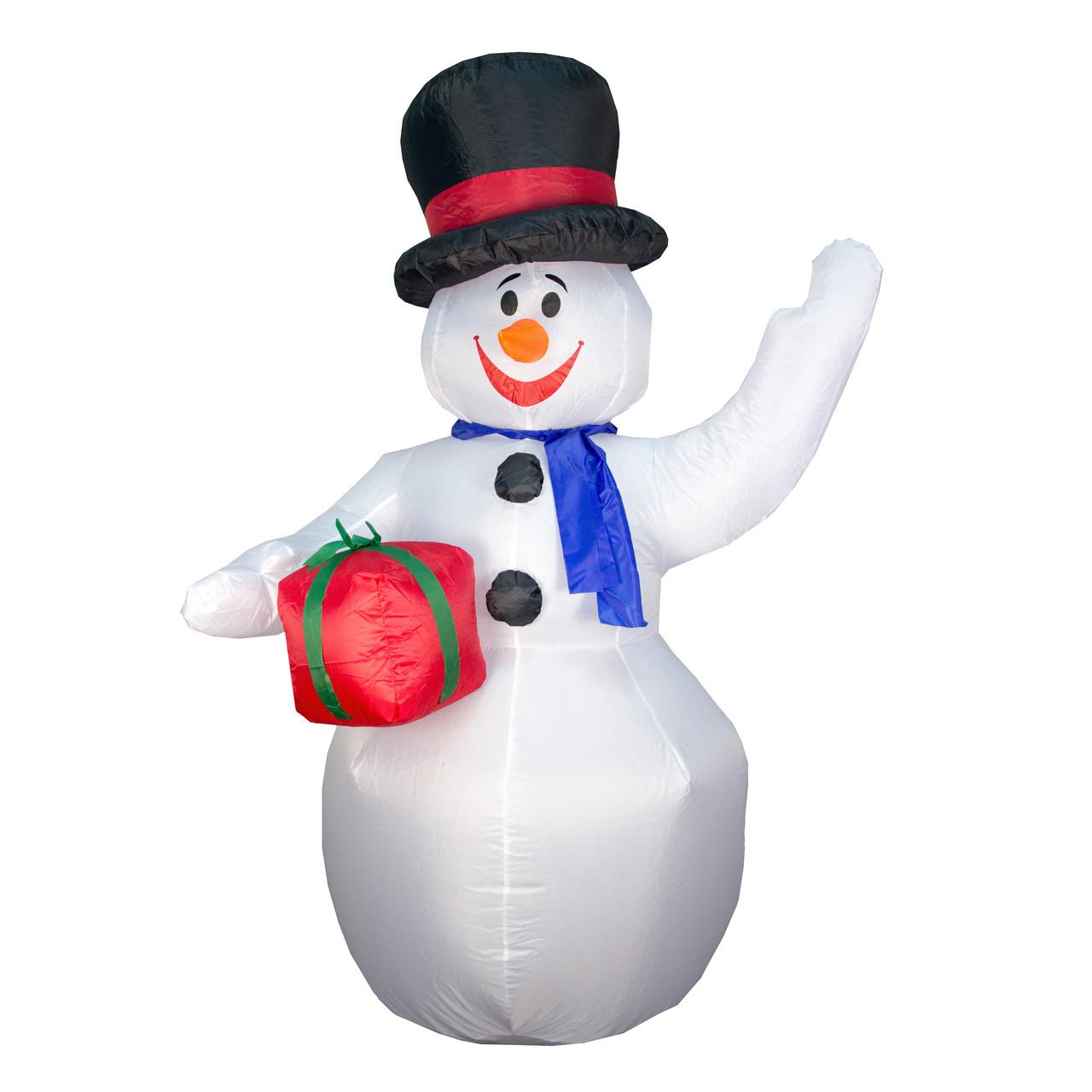 Уличный декор Надувной Снеговик, 180 см (830022)