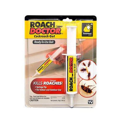 Гель от тараканов и насекомых Roach doctor Cockroach Gel, фото 2