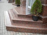 Гранітні сходи фігурні