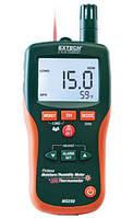Влагомер, измеритель влагосодержания + инфракрасный термометр бесштифтовой Extech MO290