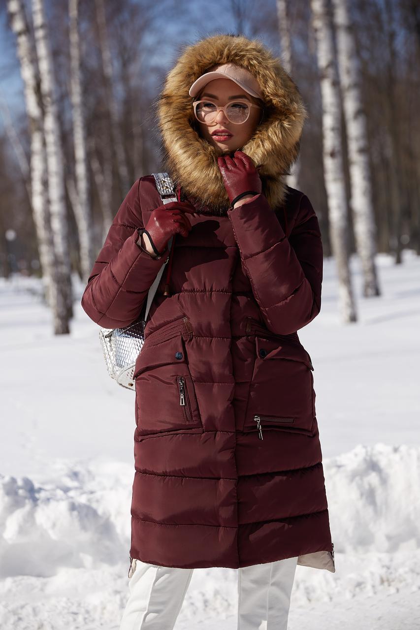 Зимовий жіночий пуховик / пальто Рива 2  розмір 44 46 48 50 52 54 56 58 60