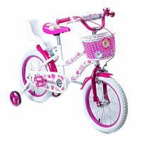 """Велосипеды двухколесные Huada Toys 16""""  розовый (1706-16)"""