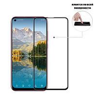 Защитное стекло Full Glue Glass для Huawei Nova 4 (клеится вся поверхность)