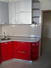Кухня с фасадами МДФ покраска 2