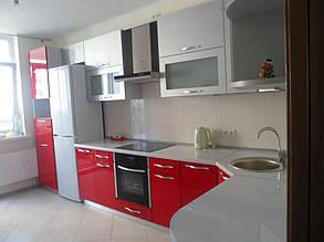 Кухня с фасадами МДФ покраска 3