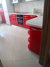 Кухня с фасадами МДФ покраска 5