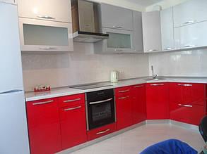 Кухня с фасадами МДФ покраска 7