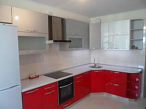 Кухня с фасадами МДФ покраска 9