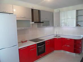 Кухня с фасадами МДФ покраска 10