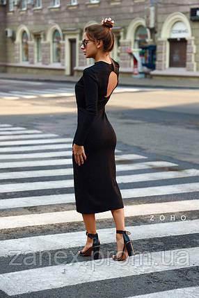 Стильное платье Zanex «Ифа», черное, фото 2