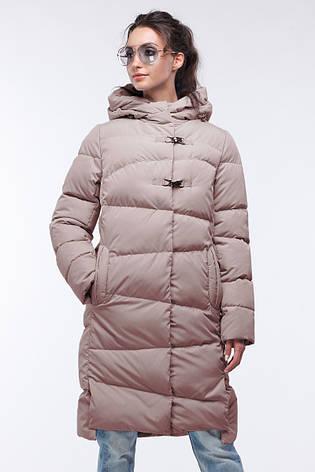 Зимовий жіночий пуховик / пальто Бекки  розмір 44 46 48 50 52 54 56 58 60, фото 2