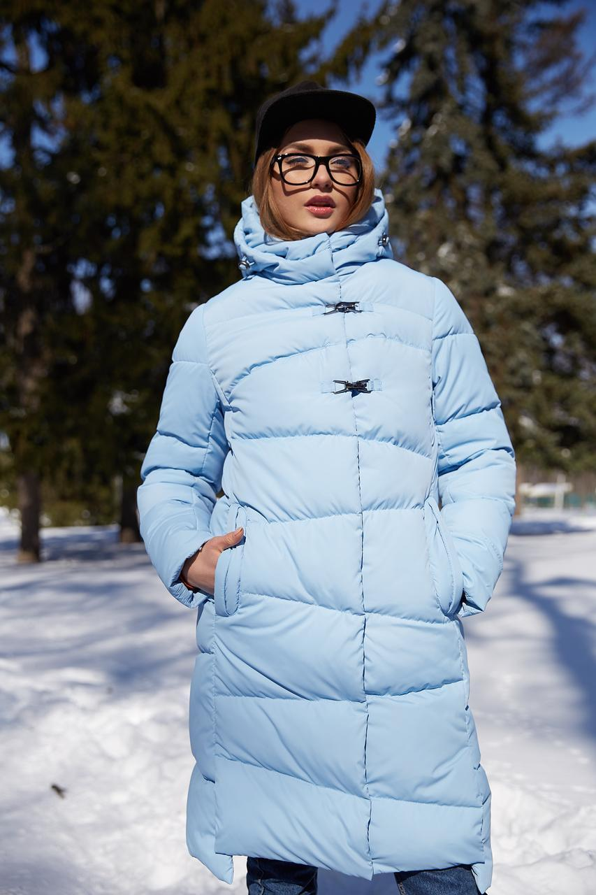 Зимовий жіночий пуховик / пальто Бекки  розмір 44 46 48 50 52 54 56 58 60