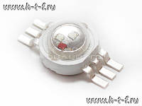 Мощный светодиод Emitter- 3W RGB Epistar