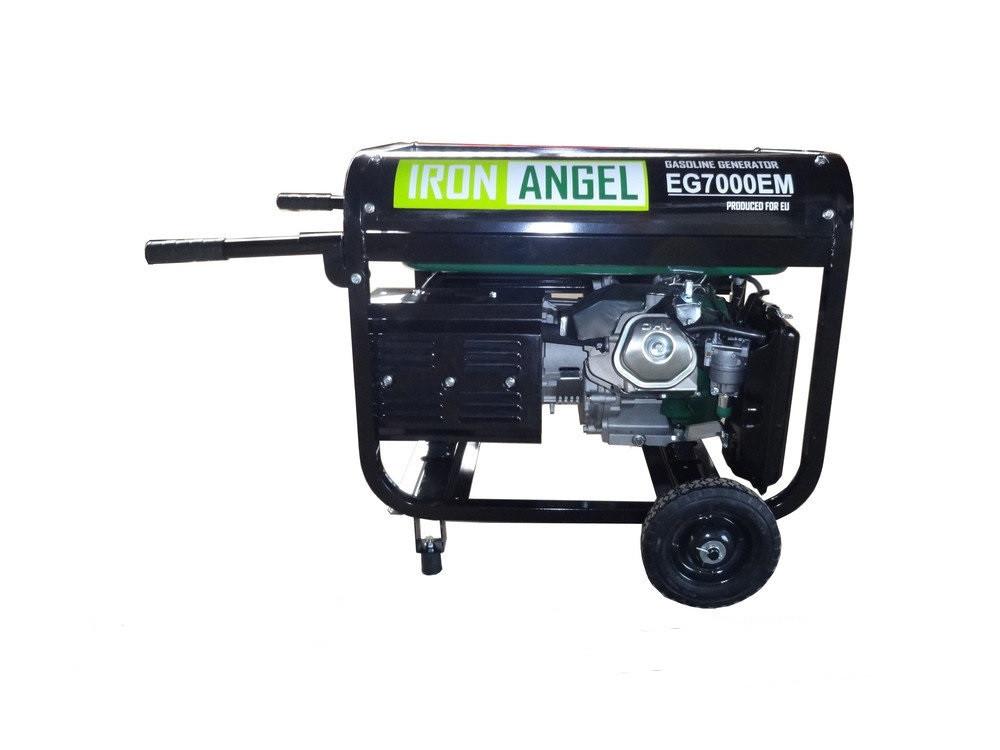 Бензиновый генератор IRON ANGEL EG7000EM