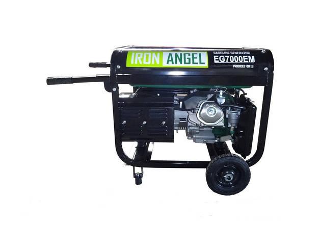 Бензиновый генератор IRON ANGEL EG7000EM, фото 2