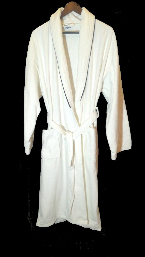 Мужской махровый белый халат XXL р.56-58