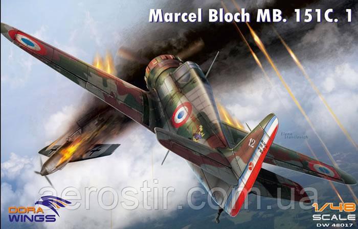 Bloch MB.151  1/48 Dora Wings 48017