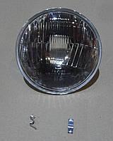 Фара ВАЗ 2103, 2106 левая=правая стекло+отражатель (ближний) (061.3711200) Формула Света. 21061.3711200-30
