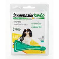 ФРОНТЛАЙН Merial КОМБО СПОТ ОН монопипетка для собак весом  2-10 кг (S)