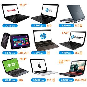 ТОП 9 БУ ноутбуков цена/возможности на разные случаи жизни!