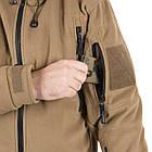 Флисовая кофта Helikon-Tex Patriot Double Fleece Jacket Olive Green (BL-PAT-HF-02), фото 8