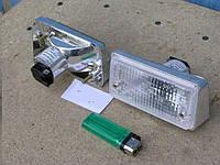 Подфарники ВАЗ 2101 передние (белое стекло, хром корпус) Формула Света. 2101-3712010