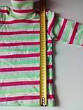 Водолазка полосатая 230219407, рост 98-104 размер 56 / салатовый-серый-малиновый-молочный, фото 2