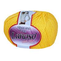 Пряжа Lanoso Alpacana Fine Желтый