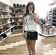 Сумочка в стиле YSL с замочком 25см | ИвСен Лоран | натуральная кожа Черный, фото 5
