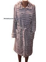 Женский махровый халат(48-54 размеры)