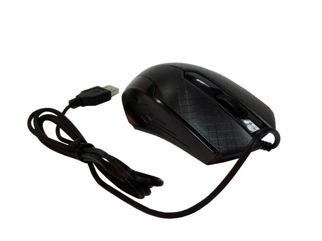 Миша дротова, USB TRY MOUSE GROOVE 1600 dpi рельєфна чорна нова ГАРАНТІЯ 12 міс.