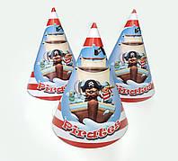 """Колпак праздничный 15 см, """"Пираты"""""""