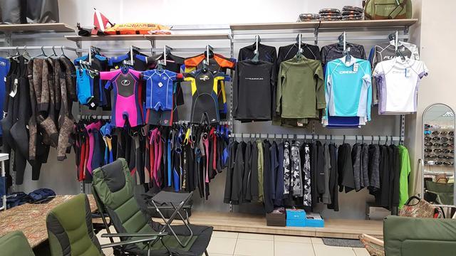 Магазин подводного снаряжения SCUBA-SHOP в Харькове, подводная охота, дайвинг, снорклинг