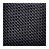 """Карбоновая пленка 3D черный """"TR-1"""" 100х127 см. текстура мелкая 2х3 мм."""