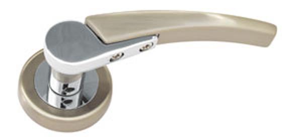 Дверная ручка MRL-27 CP/SN