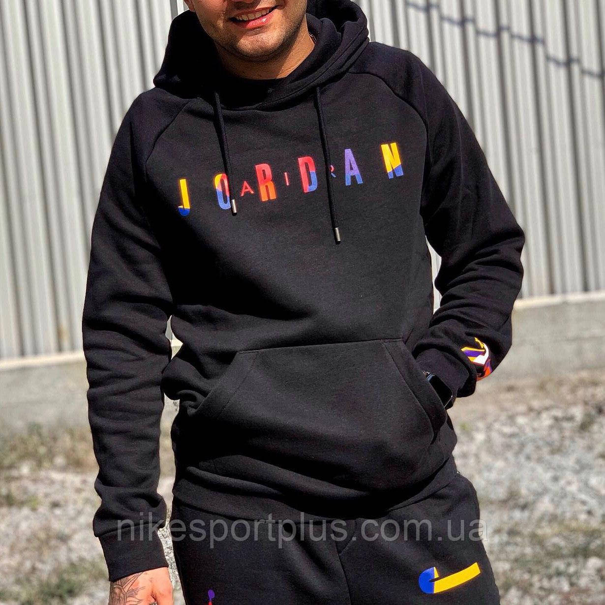 ТОЛСТОВКА M J SPRT DNA HBR FLEECE PO AT9981-010