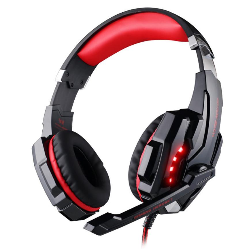 Наушники KOTION EACH G9000 (Черно-красный)