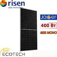 Монокристаллическая панель Risen RSM144-6-400M Jäger Plus