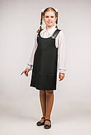 Сарафан-трапеция детский для девочек школьного возраста, размеры 32, 34, 36, 38, 40, 42. (С-33)