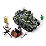 Конструктор Sluban M38-B0686 Танк BT-7 Армия 347 дет, фото 3