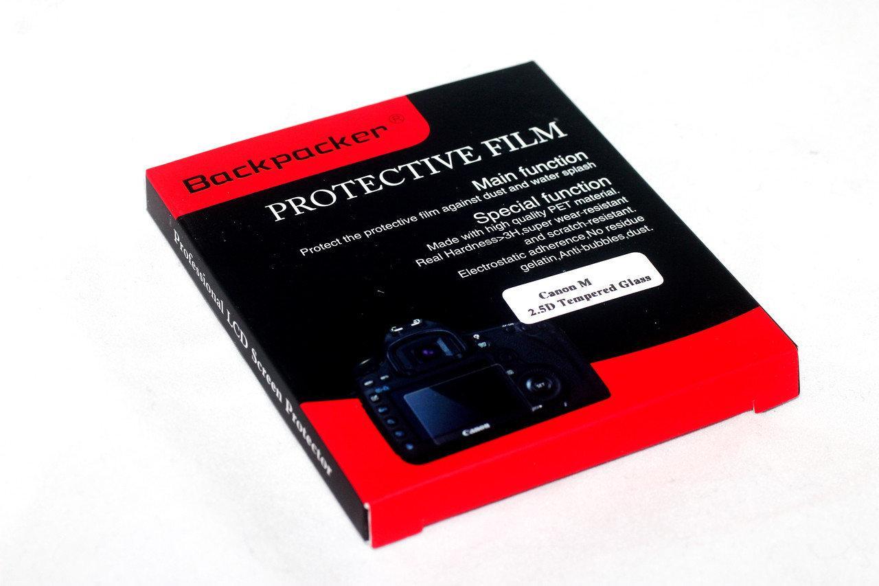 Защитное стекло Cuely для LCD экрана фотоаппаратов Canon EOS M, CANON EOS M2, IXUS 265 HS ( на складе )