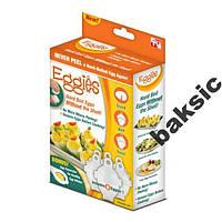 Формы для варки яиц без скорлупы Eggies (Эггиз), фото 1