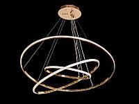 Светодиодная подвесная люстра с регулируемой высотой  хром A9079-80*60*40