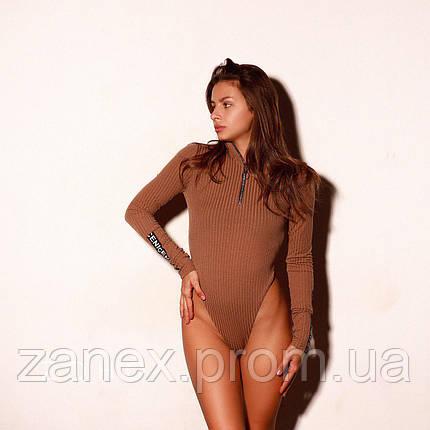 Женское боди бежевое Zanex «Лента», фото 2